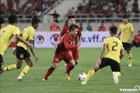 DT Viet Nam vs Malaysia Quang Hai