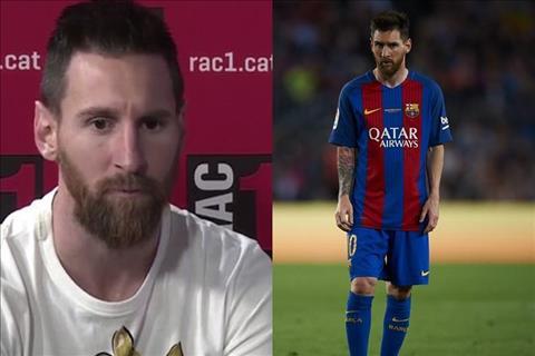 VIDEO: Messi tung muon roi khoi Barca