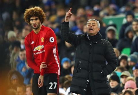 HLV Mourinho mua Fellaini về Tottenham hình ảnh
