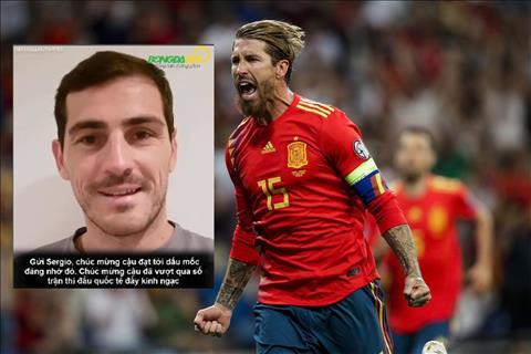 VIDEO Bị Sergio Ramos vượt qua, Casillas nói gì hình ảnh