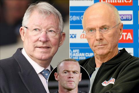 Eriksson từng choảng nhau với Sir Alex vì Wayne Rooney hình ảnh