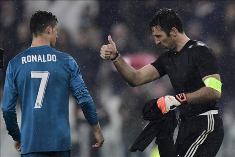 VIDEO Buffon cười lớn khi nhớ về bàn thua trước Ronaldo ở C1 hình ảnh