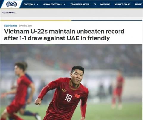 U22 Việt Nam tiếp tục duy trì kỷ lục sau trận hòa UAE hình ảnh
