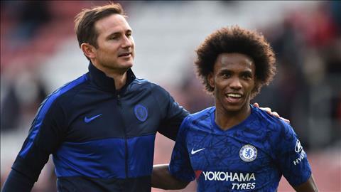 Tiền vệ Willian chia sẻ về trải nghiệm chơi dưới trướng Lampard hình ảnh