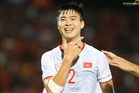 Duy Manh ghi ban mo ty so vs Indonesia