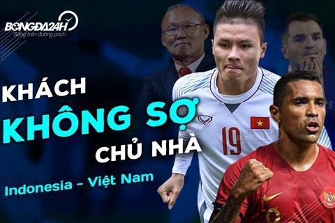 Indonesia vs Việt Nam: Khách không sợ chủ nhà