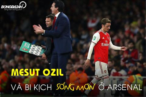 VIDEO CAM XUC: Mesut Ozil va bi kich song mon o Arsenal