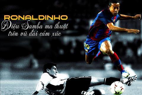 Ronaldinho Điệu Samba ma thuật trên vũ đài cảm xúc hình ảnh