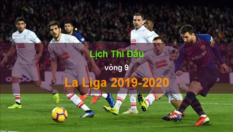 Lịch thi đấu La Liga 20192020 vòng 9 - LTĐ TBN hình ảnh