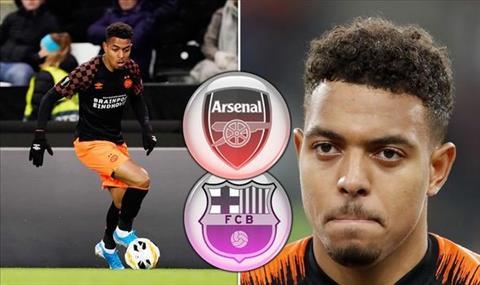 Arsenal va Barca quan tam Donyell Malen