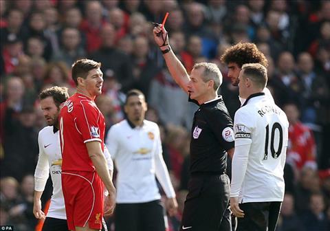 MU vs Liverpool Hung thần Martin Atkinson trọng tài bắt chính hình ảnh