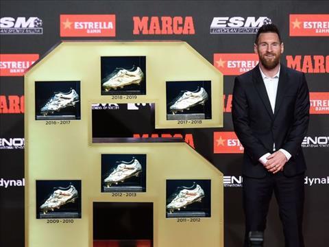 Quý tử Mateo chiếm spotlight bố Messi ở lễ trao giải Giày Vàng hình ảnh