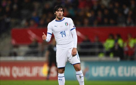 Sandro Tonali nói gì khi được so sánh với Pirlo và Gattuso hình ảnh