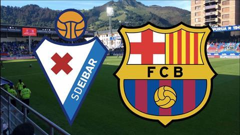 Trực tiếp bóng đá Eibar vs Barca vòng 9 La Liga 2019 ở đâu  hình ảnh