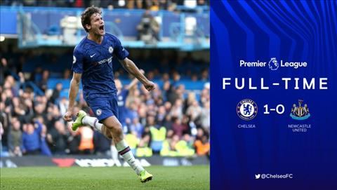 Chelsea danh bai Newcastle 1-0