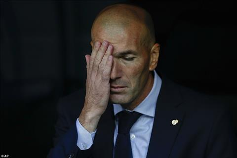 HLV Zidane phat bieu sau tran hoa Real Madrid 2-2 Club Brugge