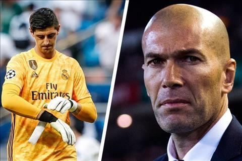 VIDEO Coutois bị thay ra, Zidane sẽ bị sớm bị sa thải hình ảnh