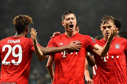 Tottenham 2-7 Bayern Munich: Robert Lewandowski