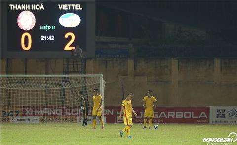 Thanh Hoa FC that bai toan dien khi The Duong nhan the do roi san.