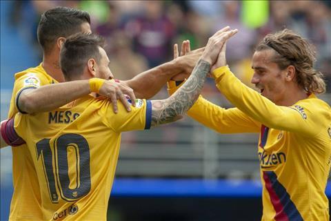 Thắng Eibar, tiền đạo Antoine Griezmann ca ngợi tình đồng đội hình ảnh