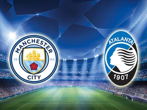 Man City vs Atalanta luot 3 bang C Champions League 2019/20