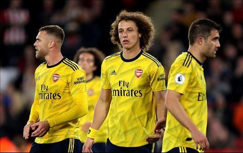 Luiz, Chamber va hang thu Arsenal
