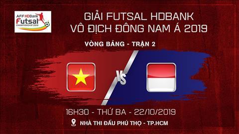 Trực tiếp bóng đá Việt Nam vs Indonesia link xem AFF Futsal hình ảnh