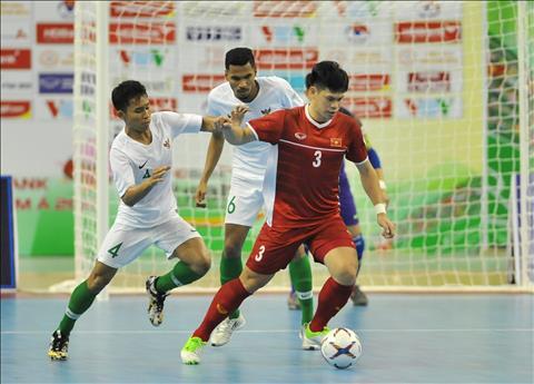 Video bóng đá Việt Nam vs Indonesia 0-0 AFF HDBank Futsal hình ảnh