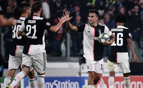 Paulo Dybala Juventus đang đi đúng hướng tại Champions League hình ảnh