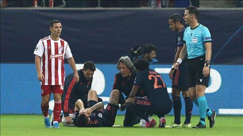 Hậu vệ Lucas Hernandez của Bayern chấn thương nặng hình ảnh
