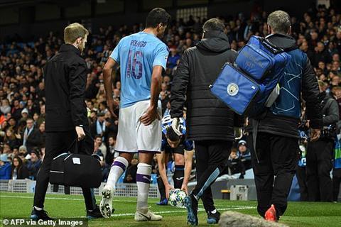 Rodri dính chấn thương sau trận thắng Atalanta hình ảnh