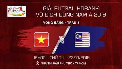 Trực tiếp bóng đá Việt Nam vs Malaysia kết quả AFF Futsal hình ảnh