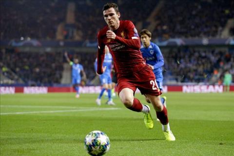 Andrew Robertson được tiền bối Liverpool hết lời khen ngợi hình ảnh