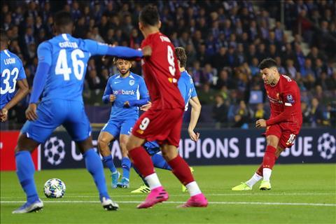 Liverpool thắng cách biệt Genk Alex Oxlade-Chamberlain hình ảnh