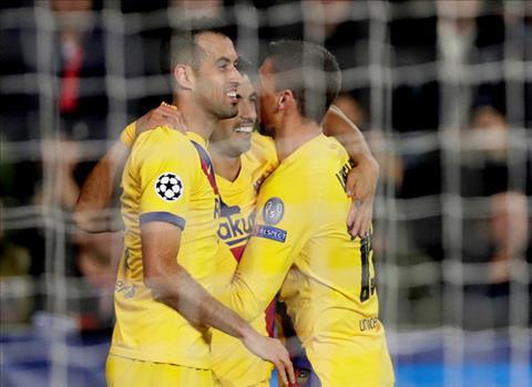 Slavia Prague 1-2 Barca Messi tỏa sáng, Blaugrana thắng nhọc trên đất Séc hình ảnh 4