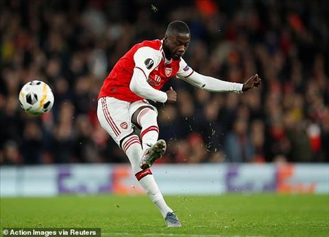 Arsenal 3-2 Guimaraes Cú đúp siêu phẩm đá phạt của Pepe giúp Pháo thủ thắng ngược đỉnh cao hình ảnh 5