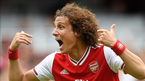 Trung vệ David Luiz cam kết tương lai với Arsenal hình ảnh