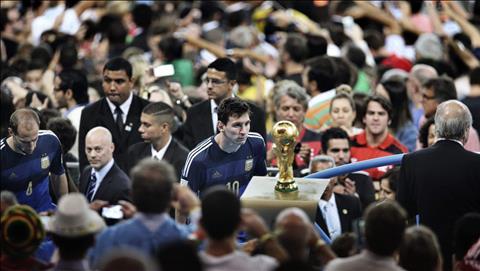 Lionel Messi khẳng định không sống chết vì ngai vàng World Cup hình ảnh