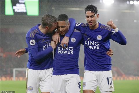 Leicester ghi bàn 1 trận bằng MU chơi cả mùa hình ảnh