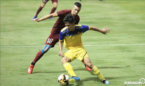 U19 Việt Nam giành chiến thắng trước đối thủ đến từ châu Âu hình ảnh