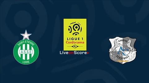 StEtienne vs Amiens 23h00 ngày 2710 Ligue 1 201920 hình ảnh