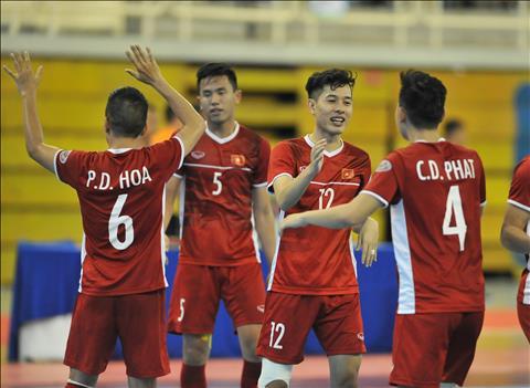 Video bóng đá ĐT Futsal Việt Nam vs ĐT Futsal Myanmar 7-3 hình ảnh