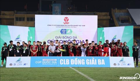 De thua Ha Noi FC voi ti so 0-3, CLB TP.HCM dong giai ba tai Cup QG 2019 voi Becamex Binh Duong.