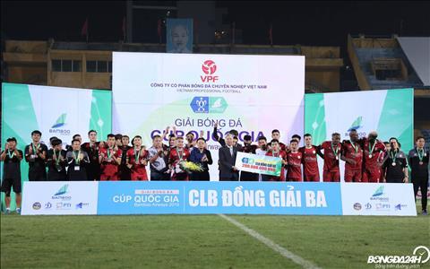 Du chua vo dich V-League hay Cup QG nhung day van duoc coi la mua giai thanh cong voi CLB TP.HCM.