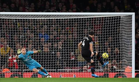 Arsenal 2-2 Palace Luka Milivojevic ghi ban