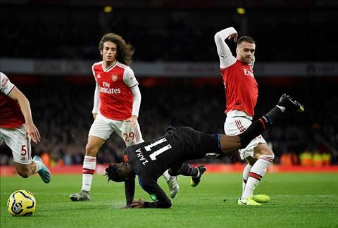 Kết quả Arsenal vs Crystal Palace VAR khiến Pháo thủ mất 2 điểm hình ảnh