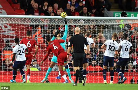 Kết quả Liverpool vs Tottenham - Vòng 10 Ngoại hạng Anh 201920 hình ảnh