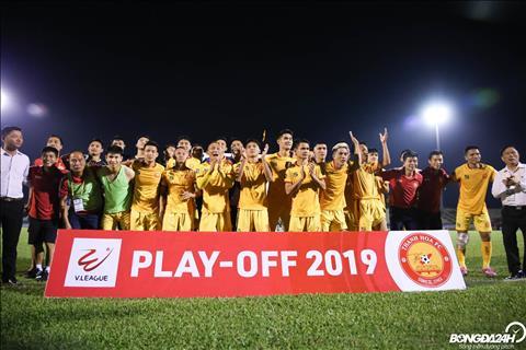 Thanh Hoa chinh thuc gianh suat tru hang tai V-League.