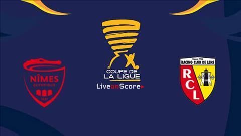 Nimes vs Lens 0h45 ngày 3010 Cúp Liên đoàn Pháp 201920 hình ảnh