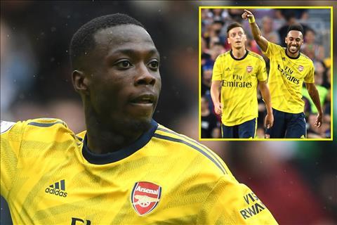 Đội hình Arsenal mâu thuẫn vì Emery yêu Pepe ghét Ozil hình ảnh